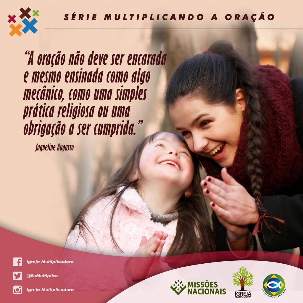 MULTIPLICANDO A ORAÇÃO - 06